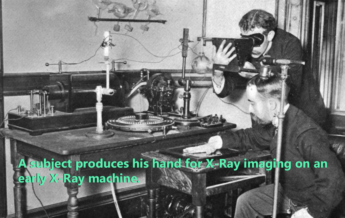 An 1890s era X-Ray machine