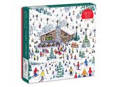 Apres Ski Puzzle by Michael Storrings
