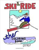 Ski & Ride: The Coloring Book