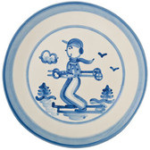"Hadley Pottery 9"" Plate"