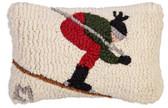 Spotlight Pillow, Downhill Skier