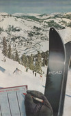 Head 1960 Squaw Valley Olympics Giclee Print