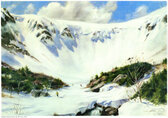 Tuckerman watercolor print, Shepler