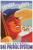 National SKi Patrol Artiplaq Poster
