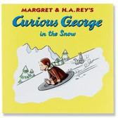 Curious George in the Snow--Soft
