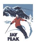 Jay Peak Screen Print