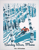 Sunday River Screen Print