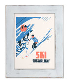 Framed Sugarloaf Gondola Screen Print