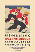 FIS Innsbruck 1933 Giclee Print