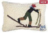 Spotlight Pillow- Back Country Skier