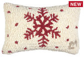 Spotlight Pillow- Red Flake