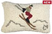 Spotlight Pillow- Yipee Ski Jumper