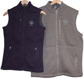 Men's Sweaterfleece Vest- Stone