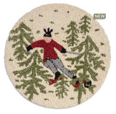 Chair Pad Tree Skier