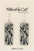 Ski Trail  Earrings
