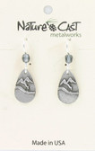 Teardrop Mountain Dangle Earring