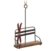 Chair Lift with Skis Ornament