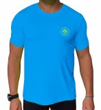 Azur Unisex Downwind Top Cyan
