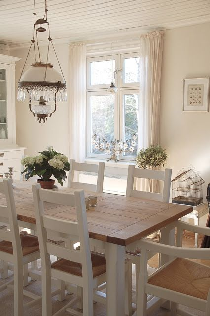 French Farmhouse Dining Set
