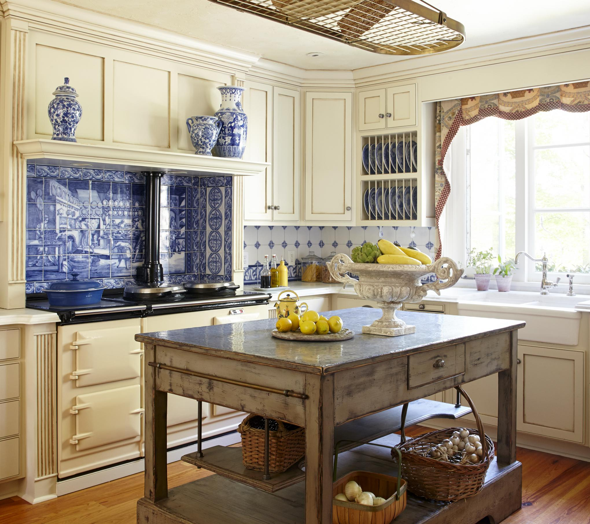 Traditional French County Kitchen