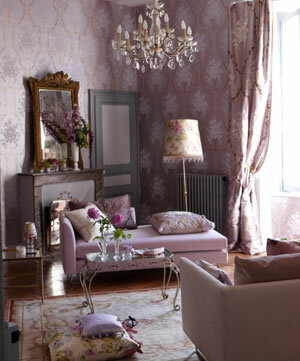 Designer Wallpaper from French Country Furniture USA