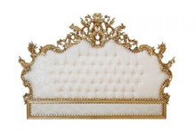 Versailles Headboard in Gold Leaf