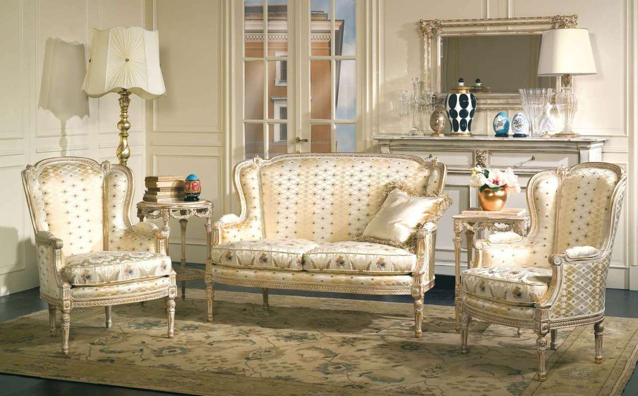 Living Room Sets Louis Xvi Style Sofa Chairs
