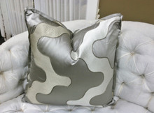 Jewel Throw Pillow, fabric by Zimmer + Rohde