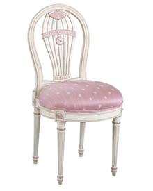 Louis XVI Balloon Armchair & Side Chair