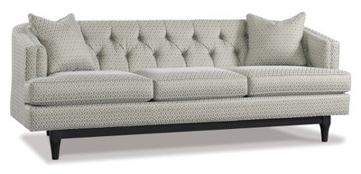 Modern Tufted Sofa $2828.00 / Fabric on this piece is COM