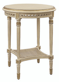 (B) Round Louis XVI End Table