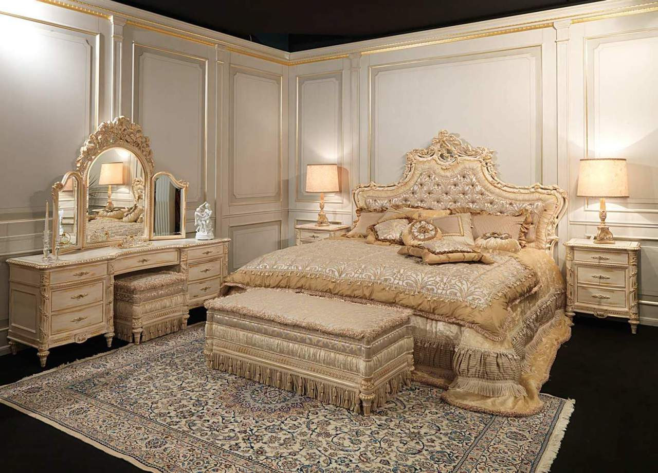 French Bedroom Furniture, Louis XVI Bed, designer bed