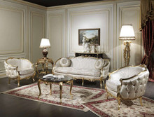 Luxury classic Venezia living room set