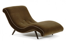 Onda Chaise Lounge, buttoned