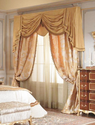 Window Treatment Swags And Tails Valance Curtain