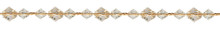 Beaded Curtain Tieback Gem, Opal
