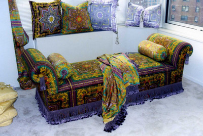 Designer Daybed by Thundersley Home Essentials with fabric Designed by Gianni Versace 212 889 1917