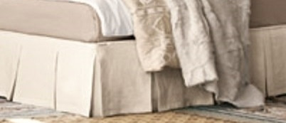 bedskirt box pleated bedskirt high end