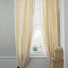 Rod Pocket Curtains, Faux Silk