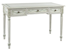 Louis XVI Desk, White