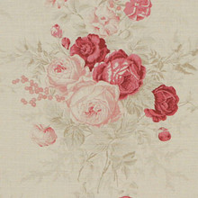 Country Shabby Chic Roses Fabric