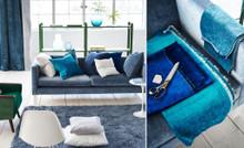 Vintage velvets, Light Blue & Turquoise
