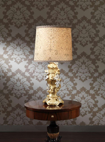 (H) Baroque Style Lamp