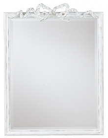 Bow Mirror frame with bevelled mirror, READY TO SHIP
