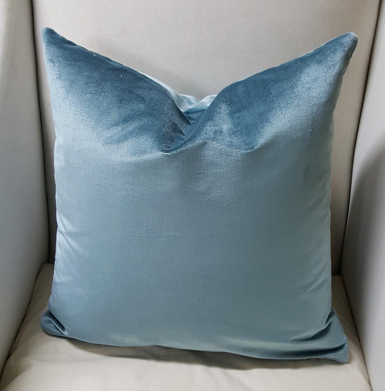 Silk Velvet Throw Pillows Couch Pillows