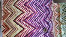 Missoni Jarris Purple Caramel Green Blue Multi Shower Curtain