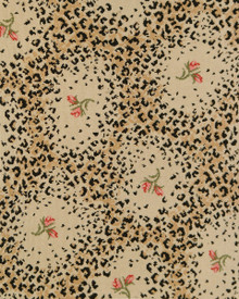 Leopard Rose Print Carpet from Stark Carpet
