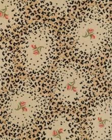 Leopard Rose Print Carpet from Stark Carpet