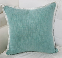 Beach Throw Pillow with flange