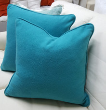 Turquoise Beach Throw Pillow